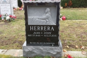 Christ in the Garden headstone - Holy Cross Catholic Cemetery