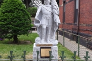 St. Florian statue - Charlestown, MA
