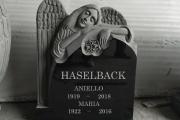 Angel headstone - Calvary Cemetery, Waltham