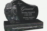 Headstone idea for Ridgewood Cemetery, North Andover