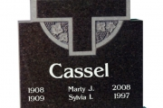 headstone design - Rowley MA