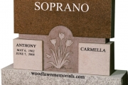 Soprano headstone - Rockport