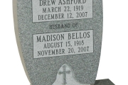headstone- Braintree, Massachusetts