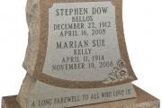 headstone design for Tewksbury, MA