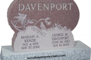 Davenport headstone - Boxford MA