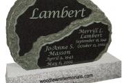 Lambert headstone - Hamilton, Massachusetts