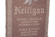 Nelligan headstone - Beverly Massachusetts