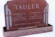 Tauler gravestone - Wellesley Massachusetts