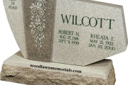 Wilcott headstone - Boxford Massachusetts