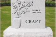 craft headstone - Milton Massachusetts