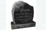 Our custom headstone designs