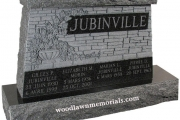 family lot headstone - Tewksbury Massachusetts