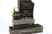 single lot headstone - Salem, MA