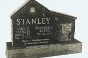 Stanley headstone - North Andover Massachusetts