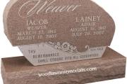 custom designed headstone for Greenlawn Cemetery, Salem Massachusetts