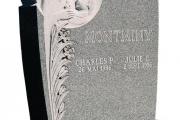 Upright headstone - Wenham Massachusetts