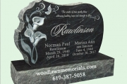Monument design for Wildwood Cemetery, Wilmington, MA