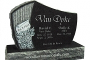 headstone for Greenlawn Cemetery Salem MA