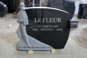 Firefighter headstone
