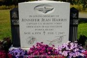 Capt. Jennifer Harris memorial