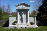 sculpted crucifix estate monument
