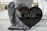 Heart shape with Angel - Wakefield, MA