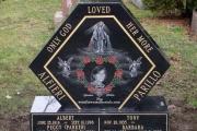 personalized headstone design