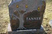 Pear Tree headstone - Bedford Massachusetts