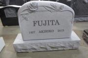 custom shape cemetery monument - Brockton Massachusetts