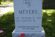 Our unpolished designs for Forest Dale Cemetery, Malden, MA