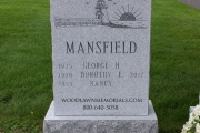 lighthouse headstone design
