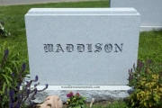 unpolished headstone - Forest Hills Cemetery Lynnfield Massachusetts