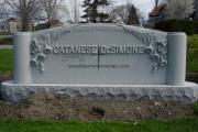 large headstone design - Everett Massachusetts