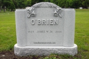 O'Brien lot memorial
