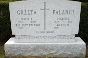 Woodlawn Cemetery Everett MA unpolished headstone