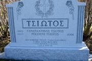 Greek headstone - Winthrop MA