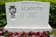 Barre headstone in memo finish - Woodlawn Cemetery - Everett MA