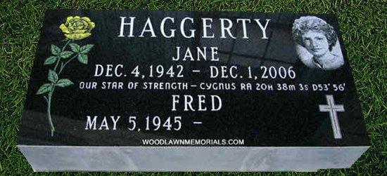 granite markers woodlawn memorials