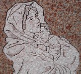 Sandblast or Flat Carving