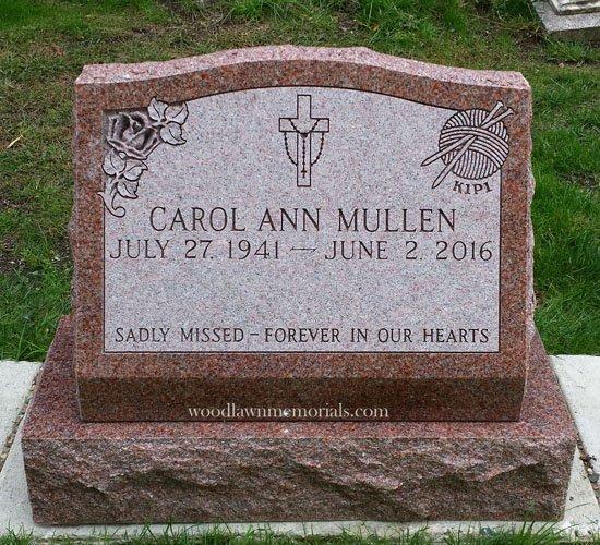 Slant Markers Woodlawn Memorials